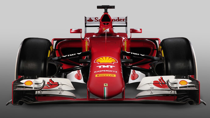 Image from 2015f1car.ferrari.com