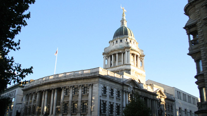 Central Criminal Court - The Old Bailey, London. (Image from Flickr.com by  Amanda Slater)