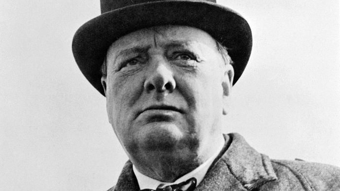 Sir Winston Churchill. (Image from Wikipedia by United States Library of Congress's Prints and Photographs division)