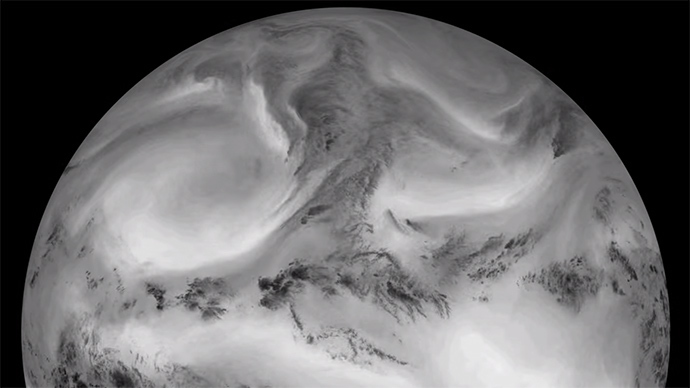 Stunning timelapse shows Earth bathed in infrared light (VIDEO)