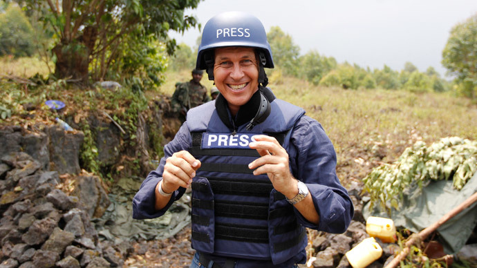 Al Jazeera journalist Peter Greste.(Reuters / Thomas Mukoya)