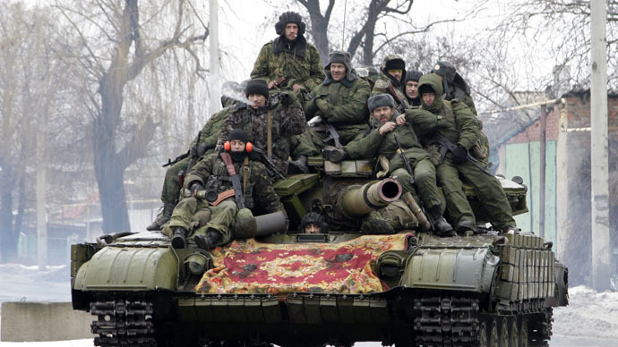 ​E. Ukrainian rebels announce recruiting drive, plan 5 new brigades