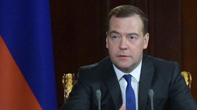 Russian Prime Minister Dmitry Medvedev (RIA Novosti/Alexander Astafyev)