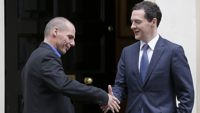Greece's Syriza govt could pose greater risk to global economy than Middle East conflict – Osborne