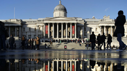 The National Gallery in London (Reuters/Luke MacGregor)