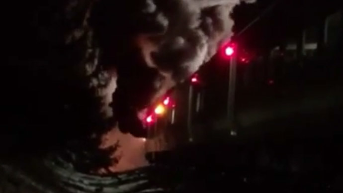 6 dead, multiple injuries after NY train collides with cars, catches fire