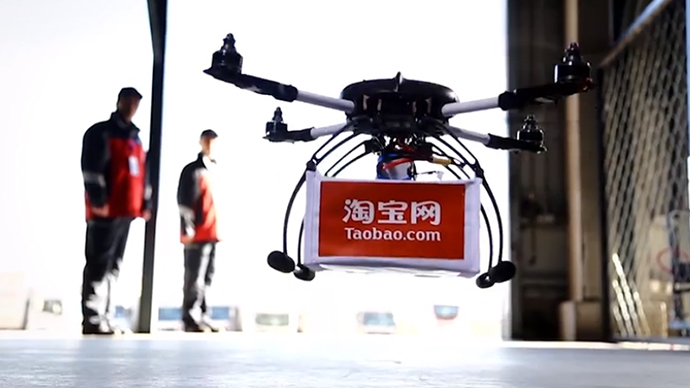 Alibaba drone deliveries to quench China's thirst for tea