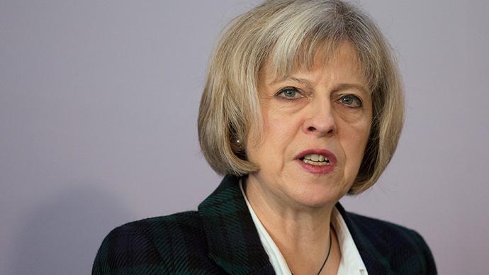 Britain's Home Secretary Theresa May (Reuters / Daniel Leal-Olivas)