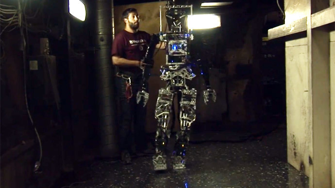 Navy's new human-like robot could replace firefighters