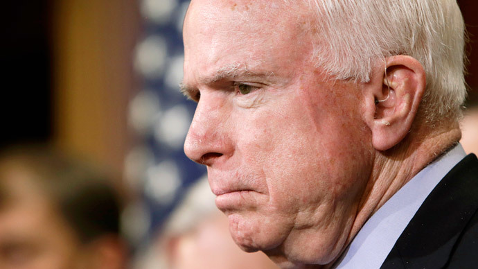 The chair of the Senate Armed Services Committee Senator John McCain.(Reuters / Gary Cameron)