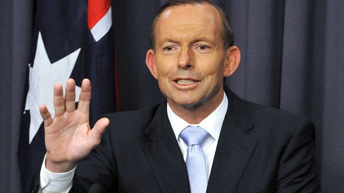 Australia's Prime Minister Tony Abbott.(AFP Photo / Mark Graham)