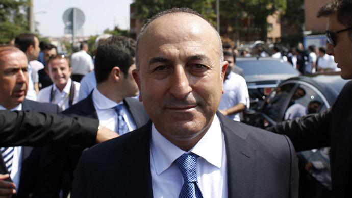 Turkey's Foreign Minister Mevlut Cavusoglu. (Reuters/Umit Bektas)