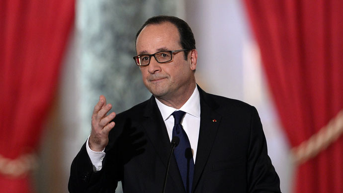 French President Francois Hollande (Reuters/Alain Jocard)