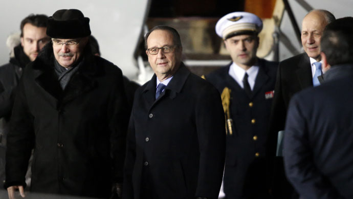 French President Hollande calls for broader autonomy for E.Ukraine