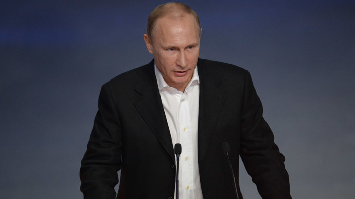 Russian President Vladimir Putin (RIA Novosti / Mihail Mokrushin)