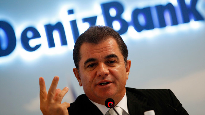 DenizBank Chief Executive and Dexia Management Board member, Hakan Ates (Reuters / Murad Sezer)