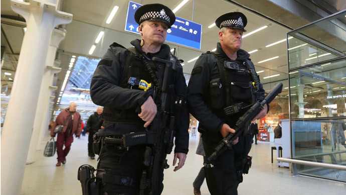 ​1 terror suspect arrested every day, says UK police commissioner
