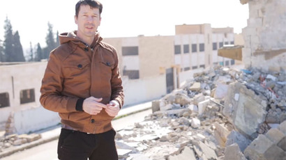 John Cantlie (screenshot from http://linkis.com)