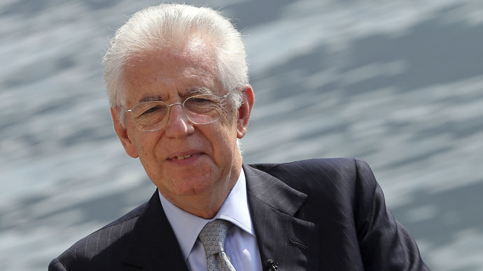 Ex-Italian PM Monti: Europe can't appear to be 'tool of US interests'