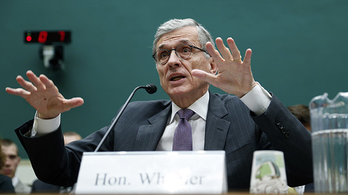 U.S. Federal Communications Commission Chairman Tom Wheeler. (Reuters/Jonathan Ernst)