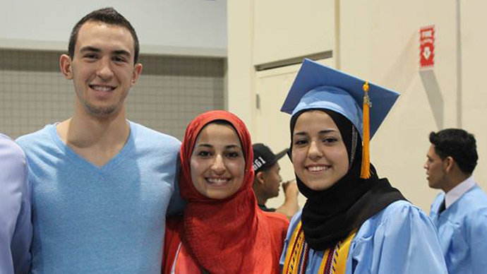 #MuslimLivesMatter: Shock and outrage as 3 Muslim students gunned  down in N. Carolina