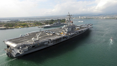 USS Ronald Reagan. (Reuters/Specialist 3rd Class Dylan McCord/U.S. Navy)
