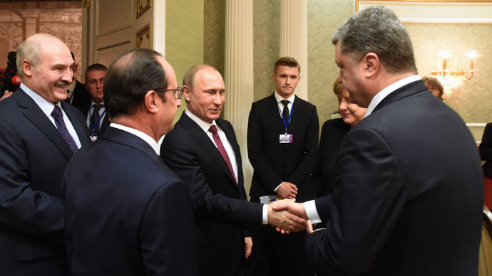 ​The Minsk ceasefire deal, point by point