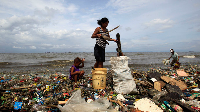 Sea shame: 155mn tons of plastic trash in world oceans by 2025, study finds