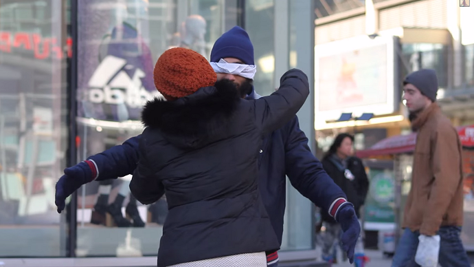 'Media blamed whole faith': Canadian activist tries to cure Islamophobia with street hugs