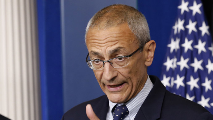 White House senior counselor John Podesta. (Reuters/Kevin Lamarque)