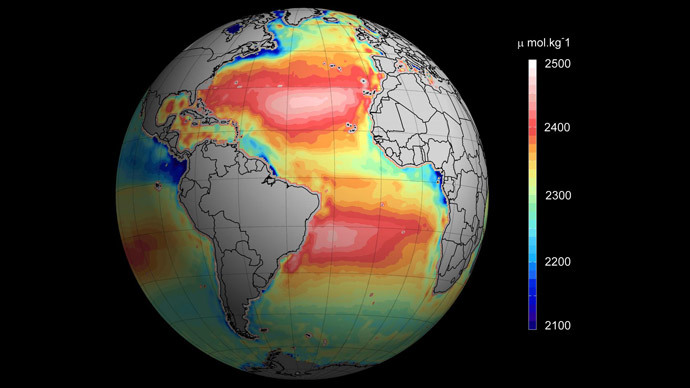 Satellite images to monitor ocean acidification in remote areas from space