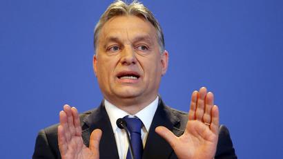 Hungarian Prime Minister Viktor Orban (Reuters/Laszlo Balogh)