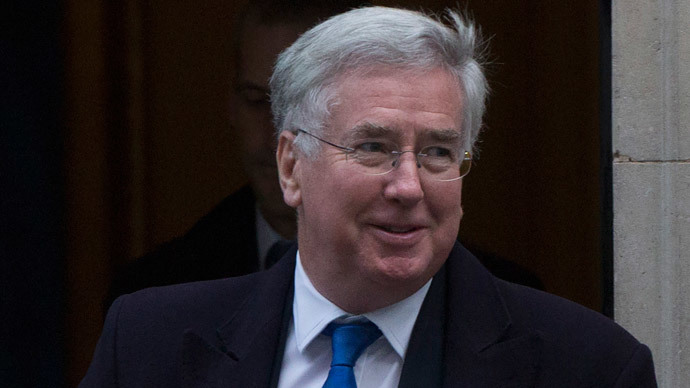 Britain's Defence Secretary Michael Fallon (Reuters / Neil Hall)