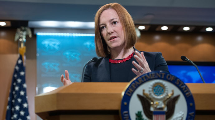 US State Department spokeswoman Jen Psaki (AFP Photo/Nicholas Kamm)