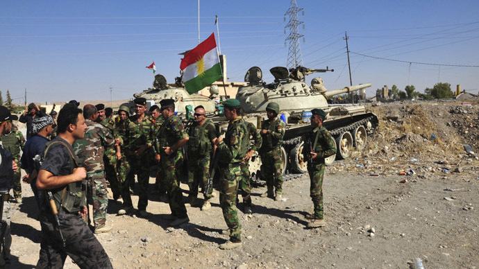 Serving British soldier joins Kurdish fight against ISIS