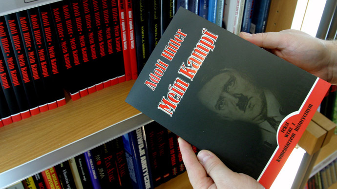 'Anti-Hitler' Mein Kampf? Germany to republish Nazi leader's manifesto after 70 years