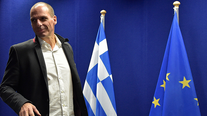Greek Finance Minister Yanis Varoufakis (Reuters / Eric Vidal)