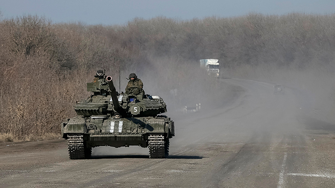 Arms pullback begins in E. Ukraine as OSCE releases footage of devastated Debaltsevo