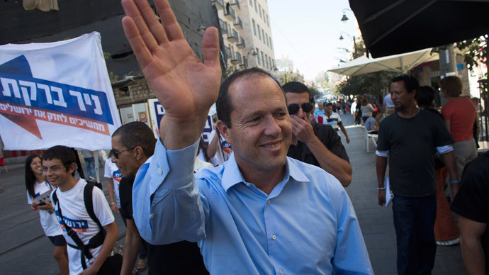 Jerusalem Mayor Nir Barkat.(Reuters / Ronen Zvulun)