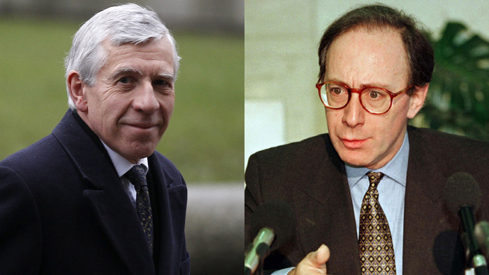 Jack Straw  (Reuters / Stefan Wermuth) and Malcom Rifkind (Reuters)