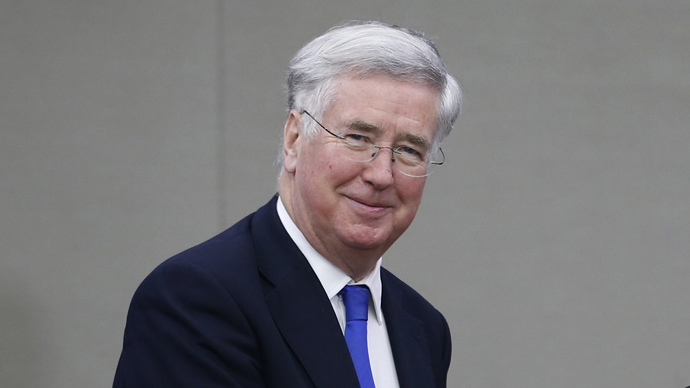 Britain's Defence Secretary Michael Fallon (Reuters / Kim Hong-Ji)