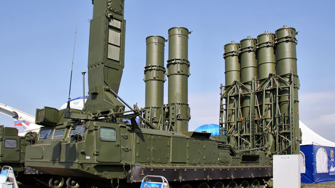 Antey-2500 anti-ballistic missile system (Photo from wikipedia.org)