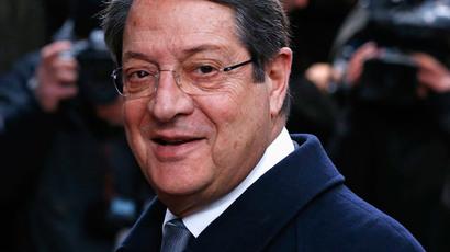 Cyprus' President Nicos Anastasiades (Reuters / Yves Herman)