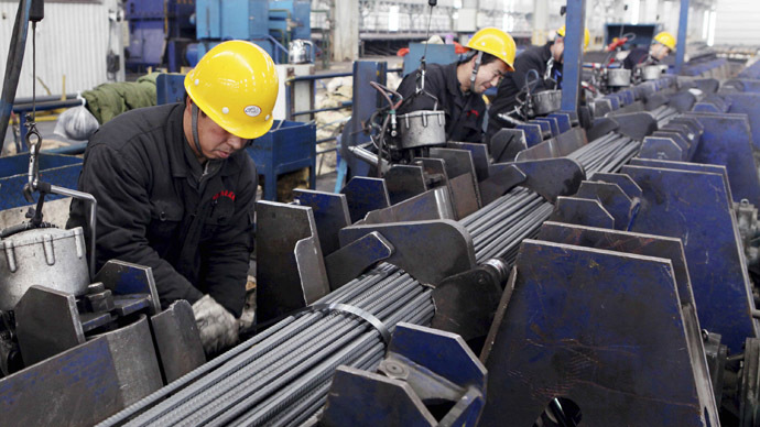 China manufacturing PMI hits 4-month high in February but exports dive