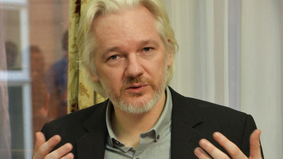WikiLeaks founder Julian Assange. (Reuters/John Stillwell)