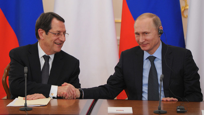 Russia to help Cyprus overcome crisis aftermath – Putin