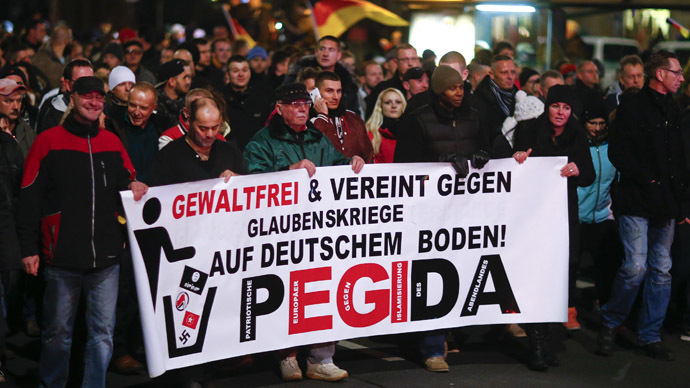 Pegida UK leader resigns ahead of Newcastle march, claim ...  Pegida UK leade...