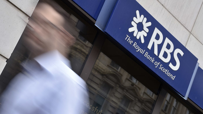 ​Bailed-out RBS offers staff 'outrageous' bonuses despite £3.5 bn losses in 2014