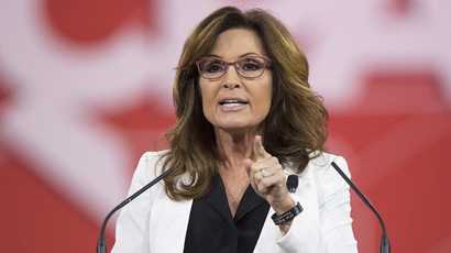 Former Republican Governor of Alaska Sarah Palin. (Reuters / Joshua Roberts)