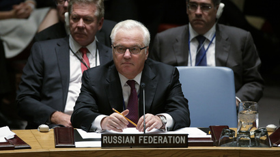 Russia's Ambassador to the United Nations Vitaly Churkin (Reuters / Brendan McDermid)